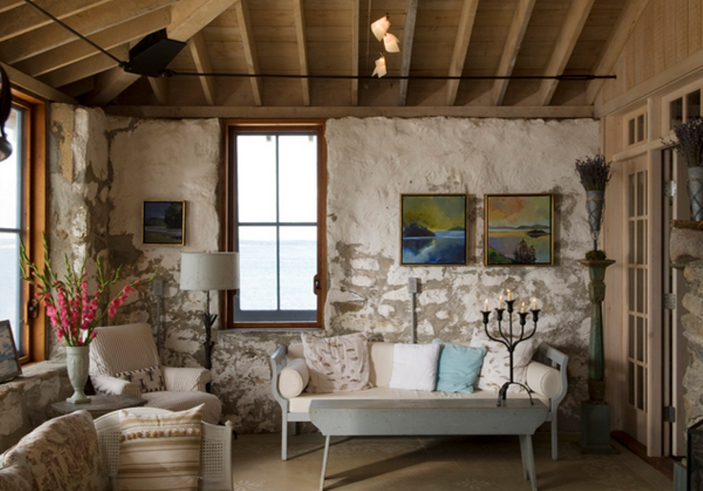 Los salones r sticos m s inspiradores decoraci n blog for Small living room rustic decorating ideas